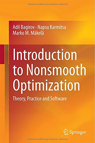 My book: Introduction to Nonsmooth Optimization