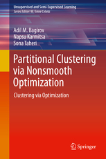 My book: Partional Clustering via Nonsmooth Optimization